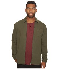Globe Dion Magnus Overshirt Dusty Olive Men's Long Sleeve Button Up