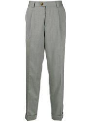 Brunello Cucinelli Tapered Trousers Grey