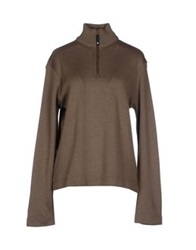 Armani Jeans Turtlenecks Dark Brown