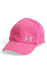 Under Armour 'Fly Fast' Heatgear Baseball Cap Rebel Pink