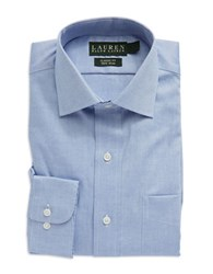 Lauren Ralph Lauren Oxford Dress Shirt Blue Pinpoint