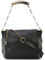 Laura B Bauletto Shoulder Bag Black