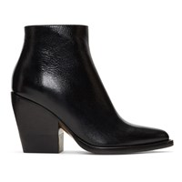 Chloe Black Rylee Ankle Boots