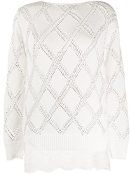 Ermanno Scervino Embellished Knit Jumper 60