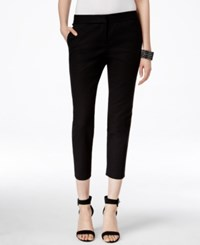 Vince Camuto Cropped Skinny Pants Rich Black