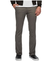 Brixton Reserve Chino Pants Heather Grey Men's Casual Pants Gray