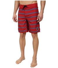 Tavik Capital Boardshort Red Men's Swimwear