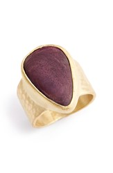 Heather Benjamin Spiny Oyster Shell Ring 8