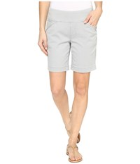 Jag Jeans Ainsley Pull On 8 Shorts In Bay Twill Shadow Women's Shorts Brown