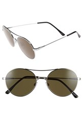 Electric Eyewear Women's 'Huxley' 53Mm Round Sunglasses