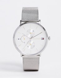 Tommy Hilfiger 1781942 Jenna Mesh Watch In Silver