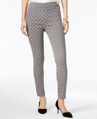 Bar Iii Jaquard Pull On Pants Only At Macy's Deep Black