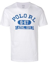 Polo Ralph Lauren Logo T Shirt White