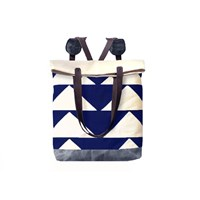 Mclovebuddy Bunting Convertible Tote Backpack Navy
