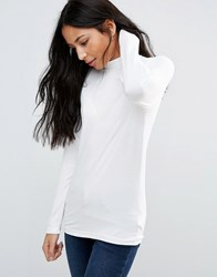 B.Young Long Sleeve Top Off White