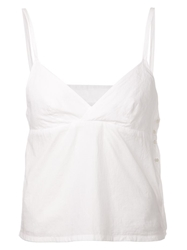 Arts And Science Triangle Camisole Top White