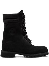 Timberland Kith Super Shearling Blk Boots Black
