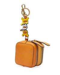 Anya Hindmarch Double Zip Circulus Coin Purse Orange