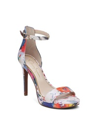 Jessica Simpson Vaile Floral Sandals Multi Colored