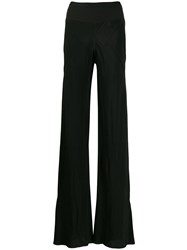 Rick Owens Flared Trousers Black