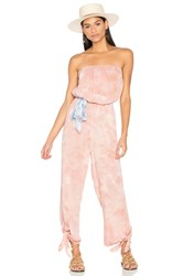 Free People Just Float One Piece Blush