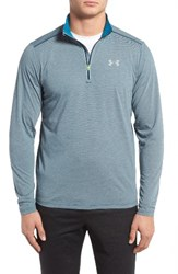 Under Armour Men's 'Streaker' Fitted Quarter Zip Training Pullover Nova Teal