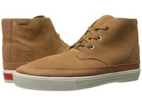 Chrome Suede Forged Chukka Golden Brown Off White Athletic Shoes