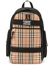 Burberry Large Vintage Check Panel Nevis Backpack 60