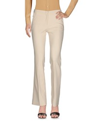 Beatrice B. Beatrice. B Casual Pants Ivory