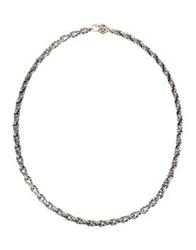 Manuel Bozzi Necklaces Silver