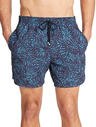 Saks Fifth Avenue Abstract Print Swim Trunks Multi