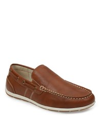Gbx Ludlam Moc Stitched Loafers Tan