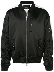 Mostly Heard Rarely Seen Track Ma 1 Jacket Black