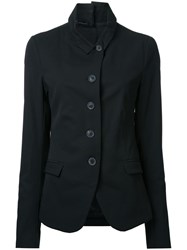 Rundholz Flap Pockets Fitted Jacket Black