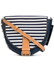 J.W.Anderson Jw Anderson Navy Breton Bike Bag Blue