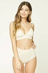 Forever 21 Microfiber Hipster Panty Nude