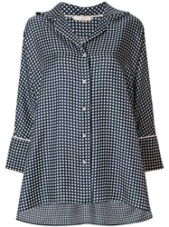 Mantu Polka Dot Shirt Blue