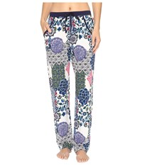 Josie Challis Pants Blue Multi Women's Pajama