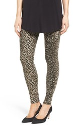 Hue Women's Animal Print Denim Leggings