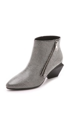 United Nude Rocky Booties Black White Mix