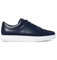 Under Armour Sportswear Club Suede Leather And Stretch Jersey Sneakers Storm Blue