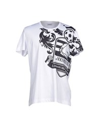 Bikkembergs Topwear T Shirts Men White