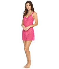 B.Tempt'd Lace Kiss Chemise Pink Yarrow Women's Pajama