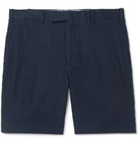 Polo Ralph Lauren Slim Fit Linen Shorts Navy
