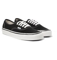 Vans Anaheim Authentic 44 Dx Suede Sneakers Black