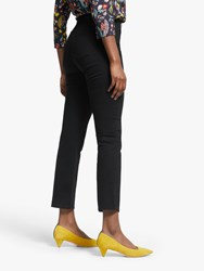 Boden Slim Fit Straight Jeans Black