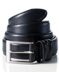 Club Room Leather Dress Belt