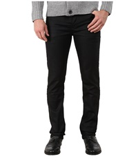 French Connection Dark Duty Denim In Dark Wash 3D Creasing Dark Wash 3D Creasing Men's Casual Pants Black