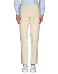 J. Lindeberg Trousers Casual Trousers Men Ivory