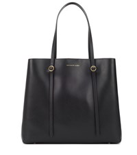 Polo Ralph Lauren Lennox Leather Tote Black